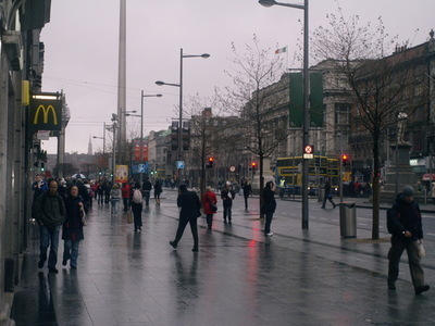 O´Connell Street norrut