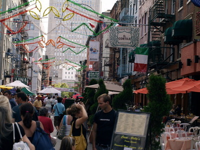 Mulberry Street, Little Italy