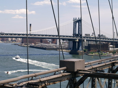 Utsikt mot Manhattan Bridge